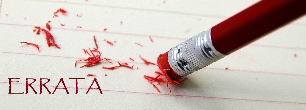 Errata: veja como fazer, normas ABNT, exemplo e dicas para TCC