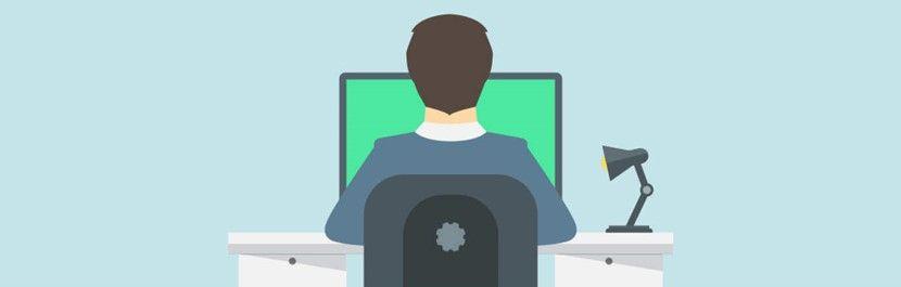 desenho computador e homem