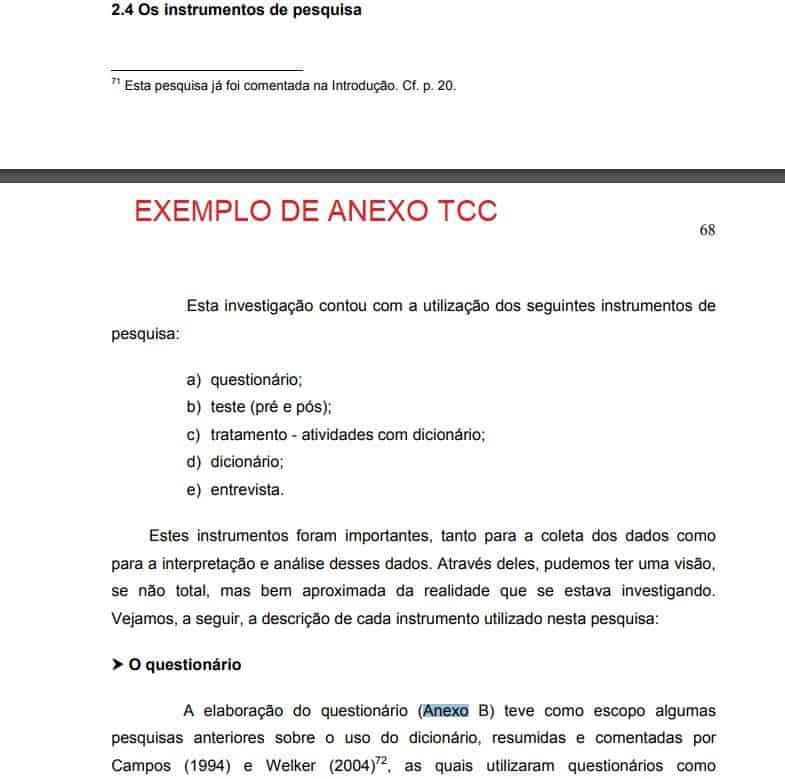 exemplo de anexo tcc