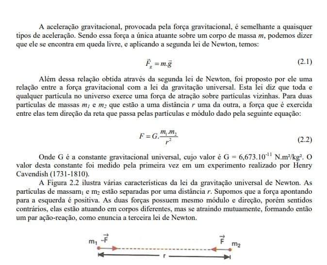 exemplo do uso de fórmulas no TCC