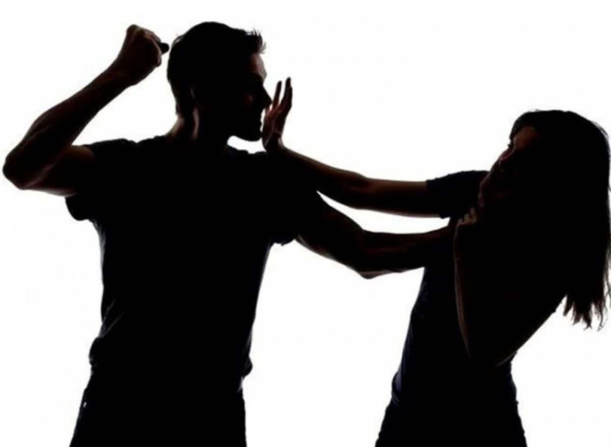 Imagem de violência doméstica
