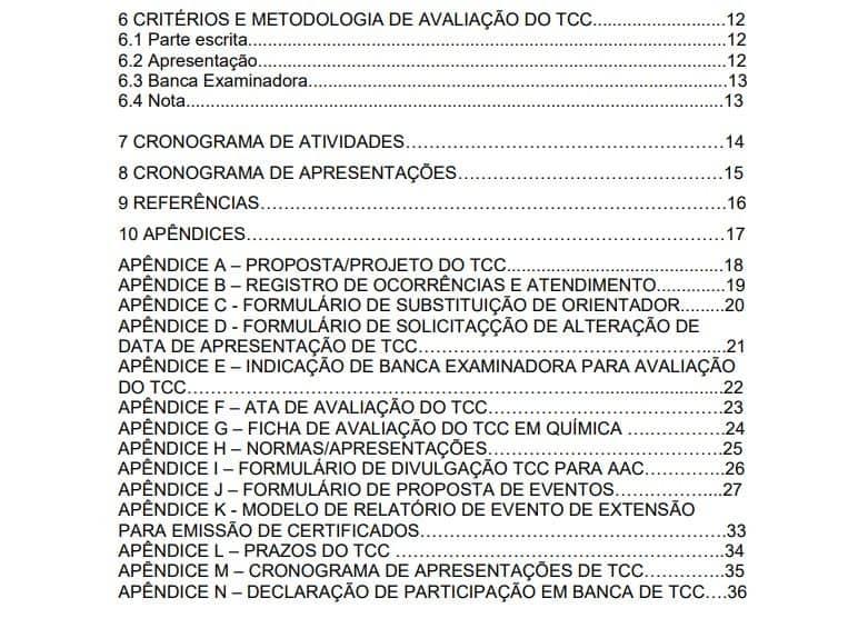 exemplo de apêndice no TCC