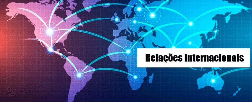 banner relações internacionais